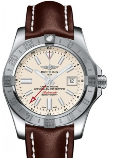 Breitling Avenger II GMT Men's Automatic in Steel