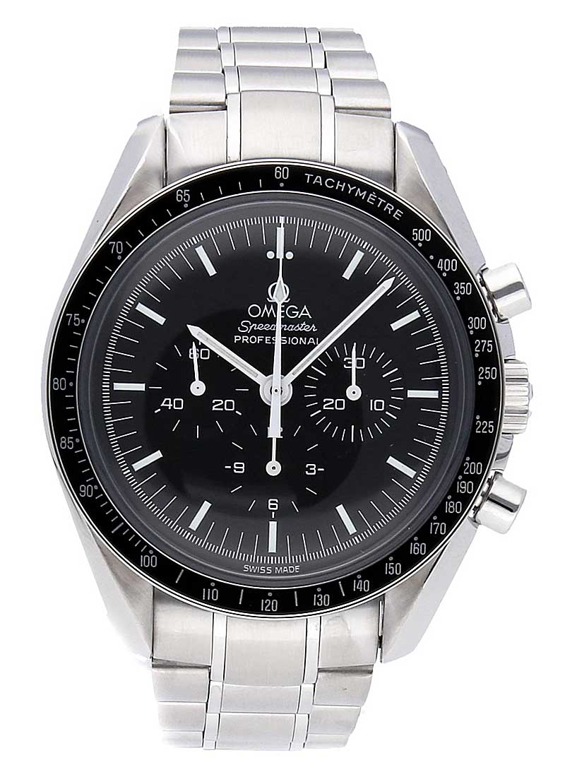 Omega Speedmaster Moon Watch Chronograph in Steel