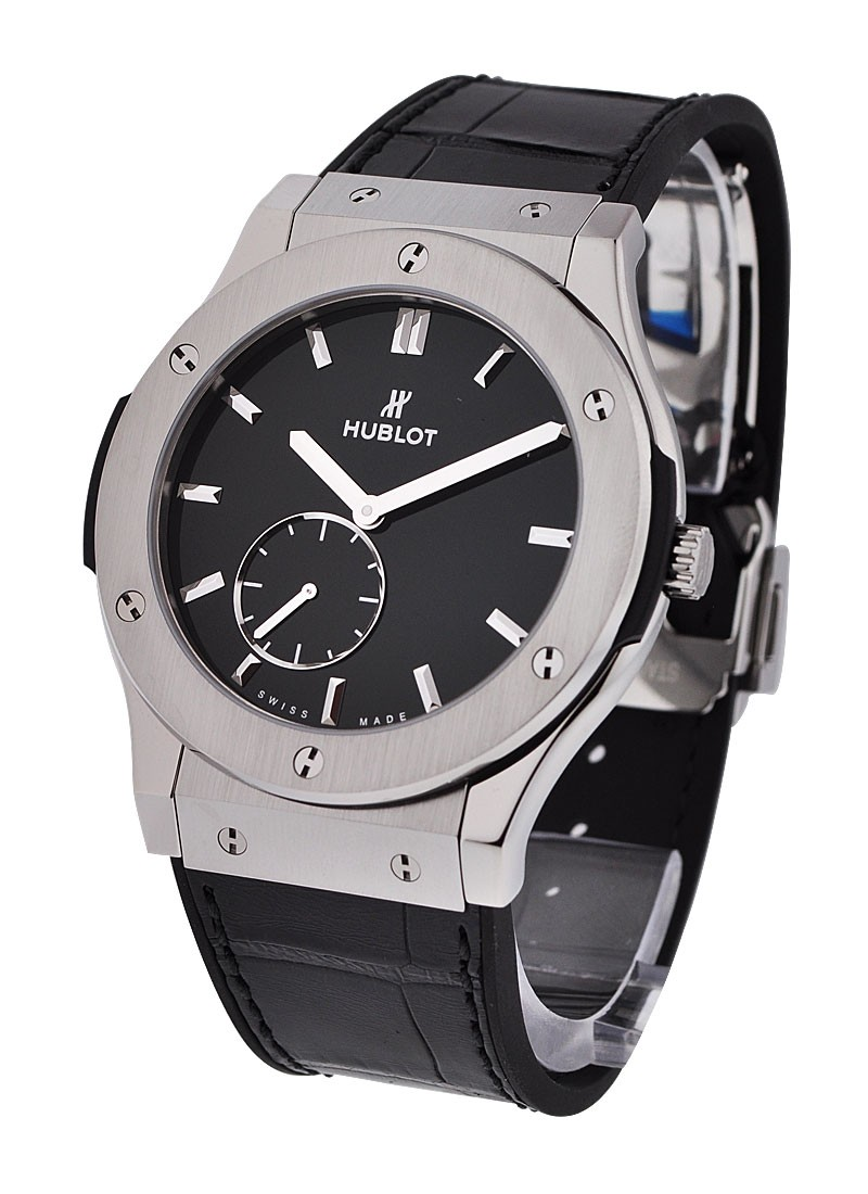 Hublot Classic Fusion 45mm Ultra Thin in Titanium