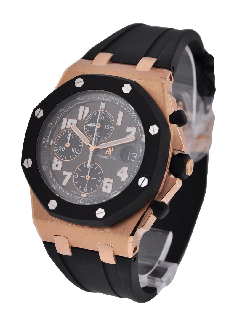 Audemars Piguet Royal Oak Offshore Choronograph 42mm in Rose Gold