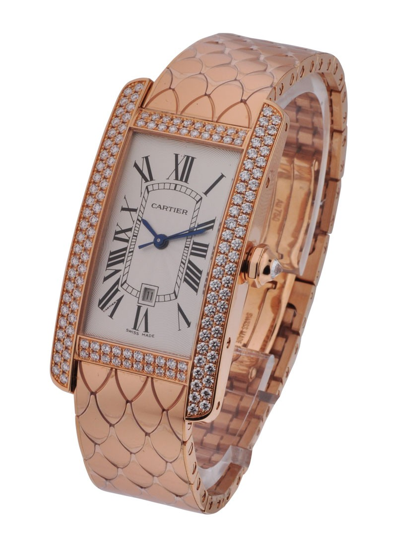 Cartier Tank Americaine with New Style Bracelet