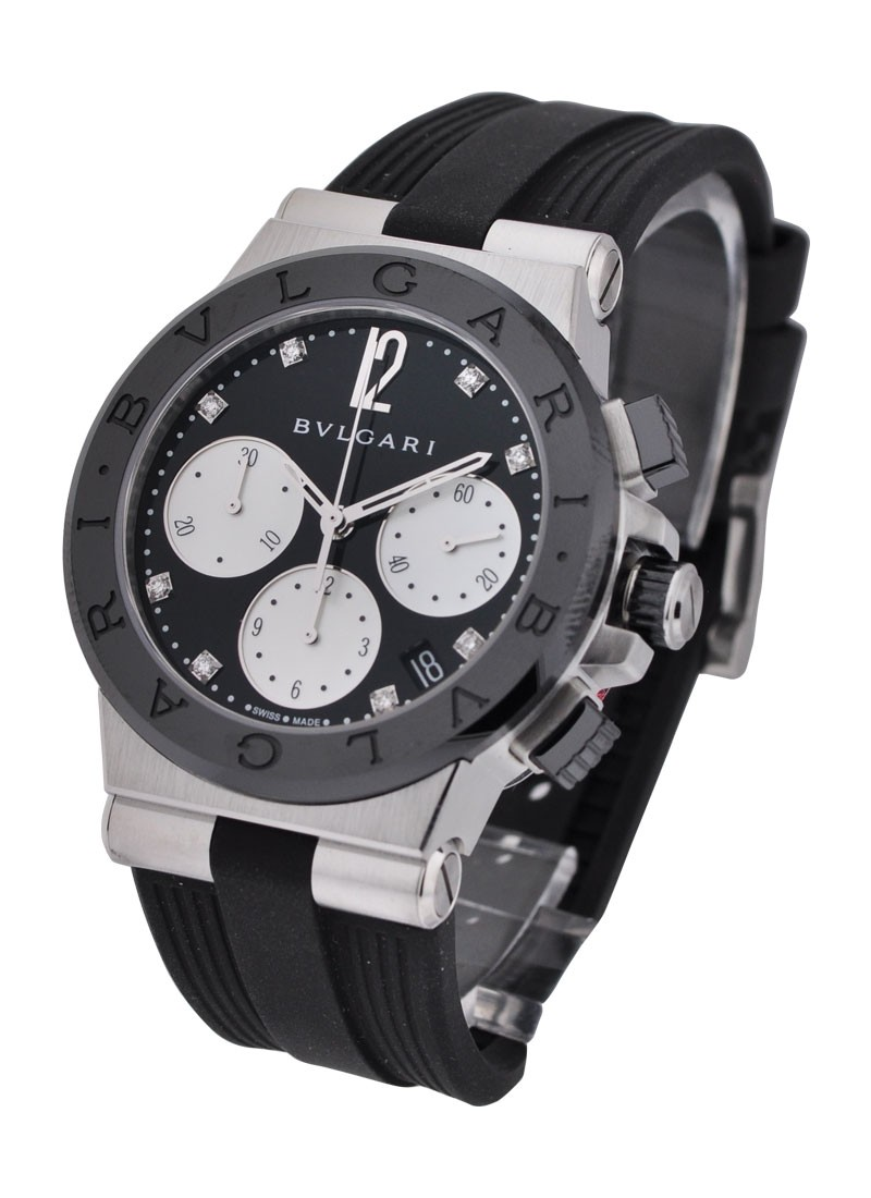 Bvlgari Diagono 37mm Chronograph in Steel