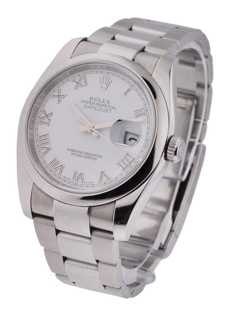 Rolex Used Mens Steel  New Style Datejust