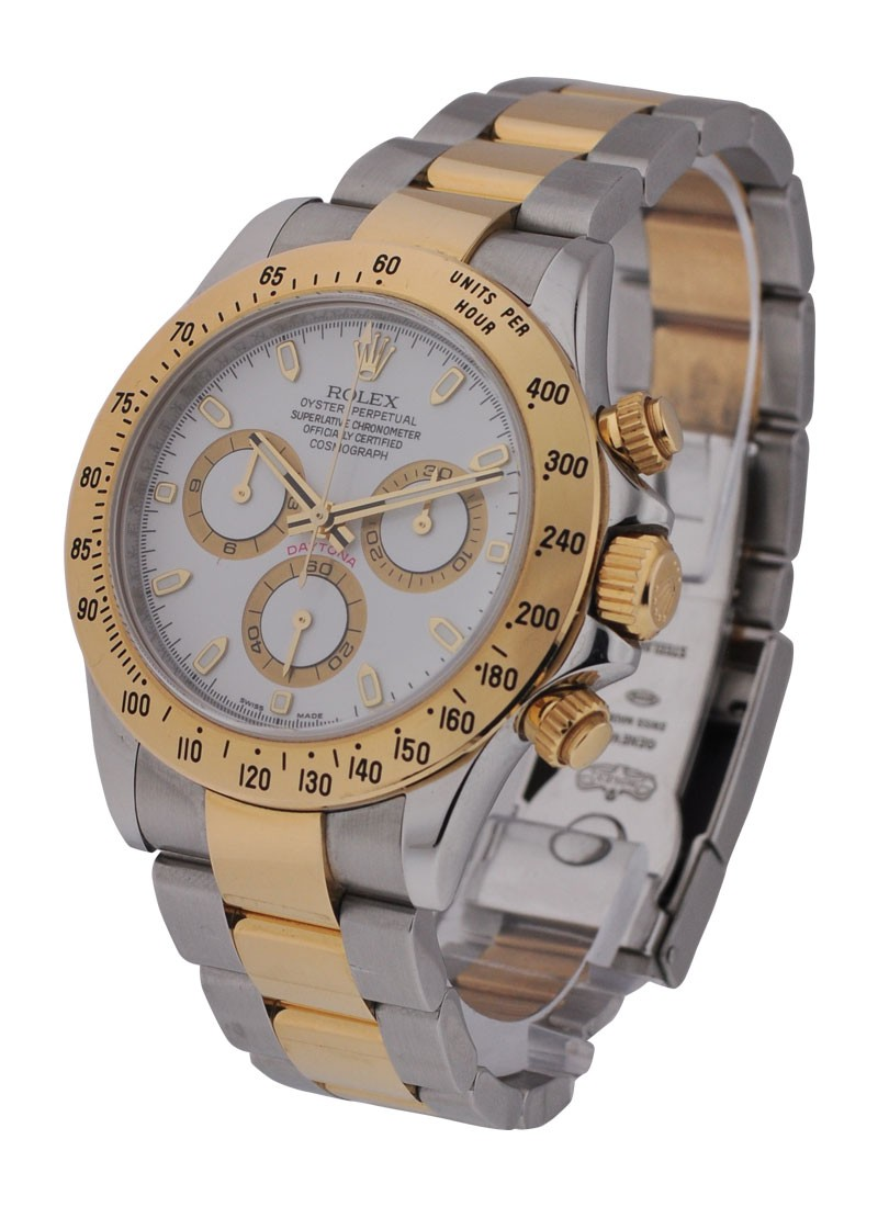Rolex Used Daytona in Steel with Yellow Gold Turn O Graph Bezel  Circa 2009