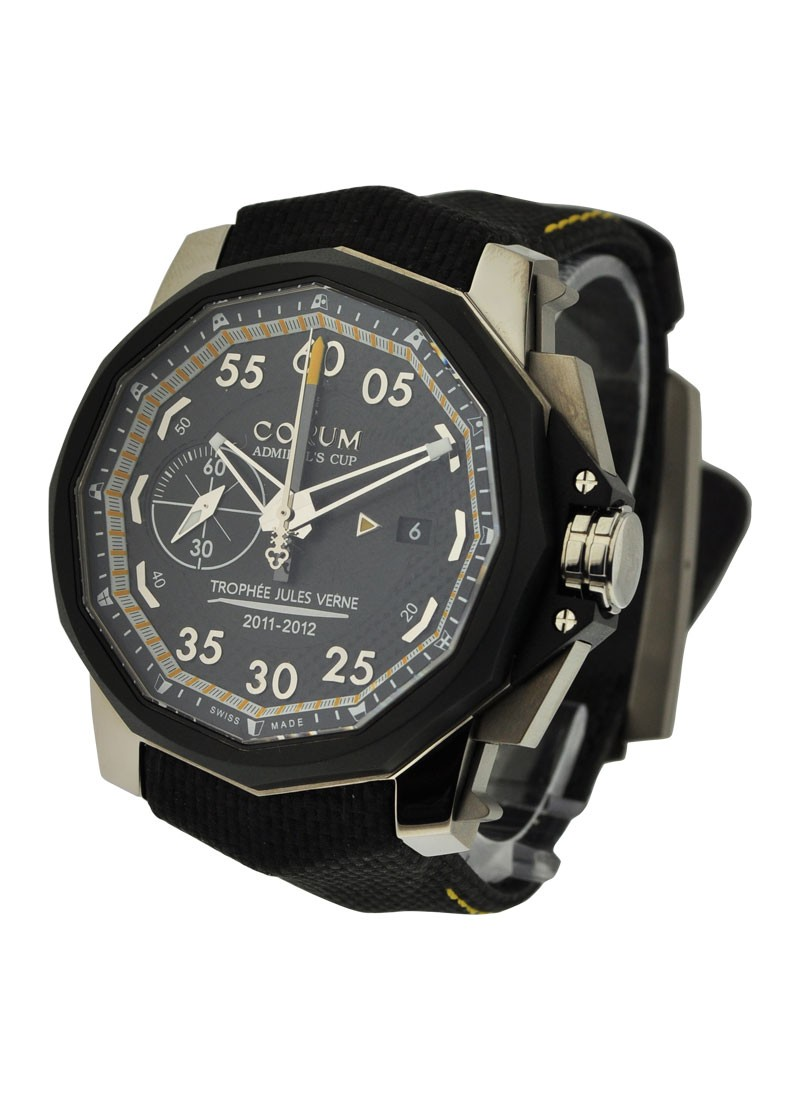 Corum Admirals Cup Chronograph 48mm Trophee Jules Verne