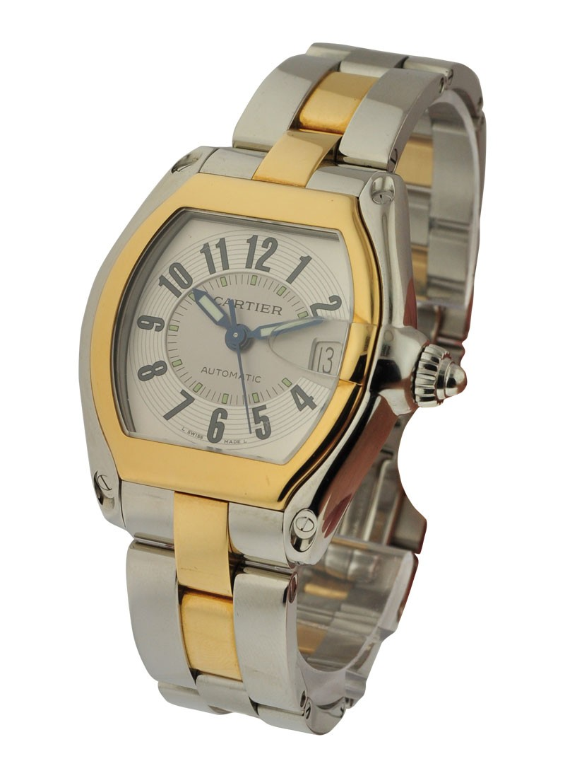 Cartier  Mens Roadster Automatic in 2-Tone