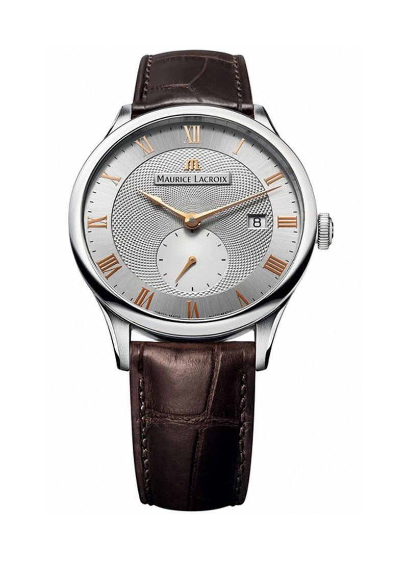 Maurice Lacroix Masterpiece Small Second Men's Automatic in Steel