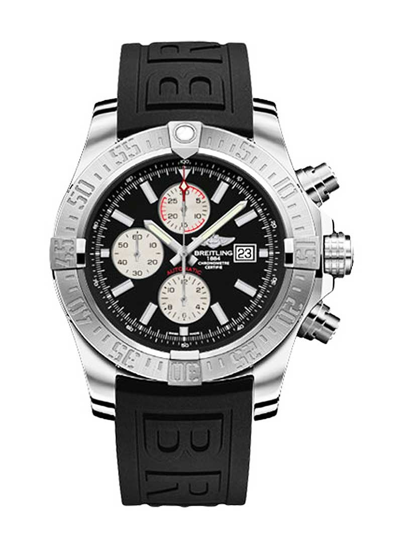 Breitling Super Avenger II Automatic Chronograph in Steel