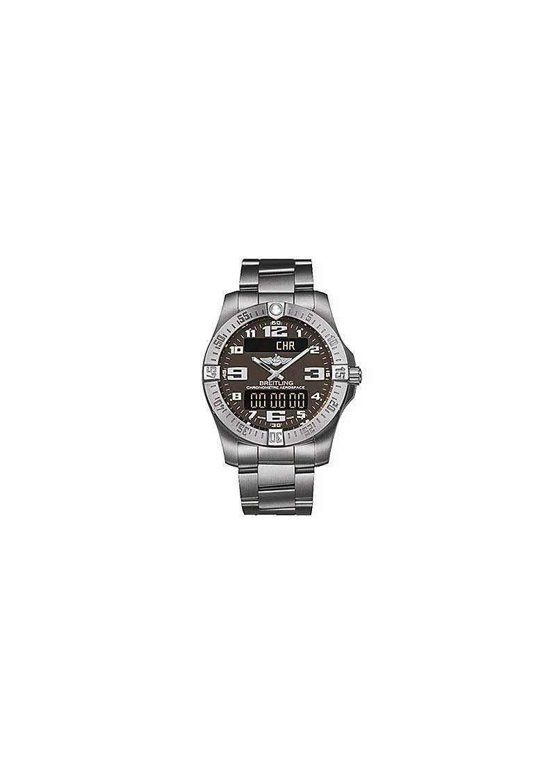 Breitling Aerospace Evo Quartz Chronograph in Titanium