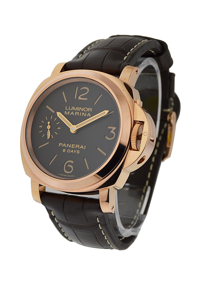 Panerai PAM 511 - Historic Luminor Marina 8 Days in Rose Gold