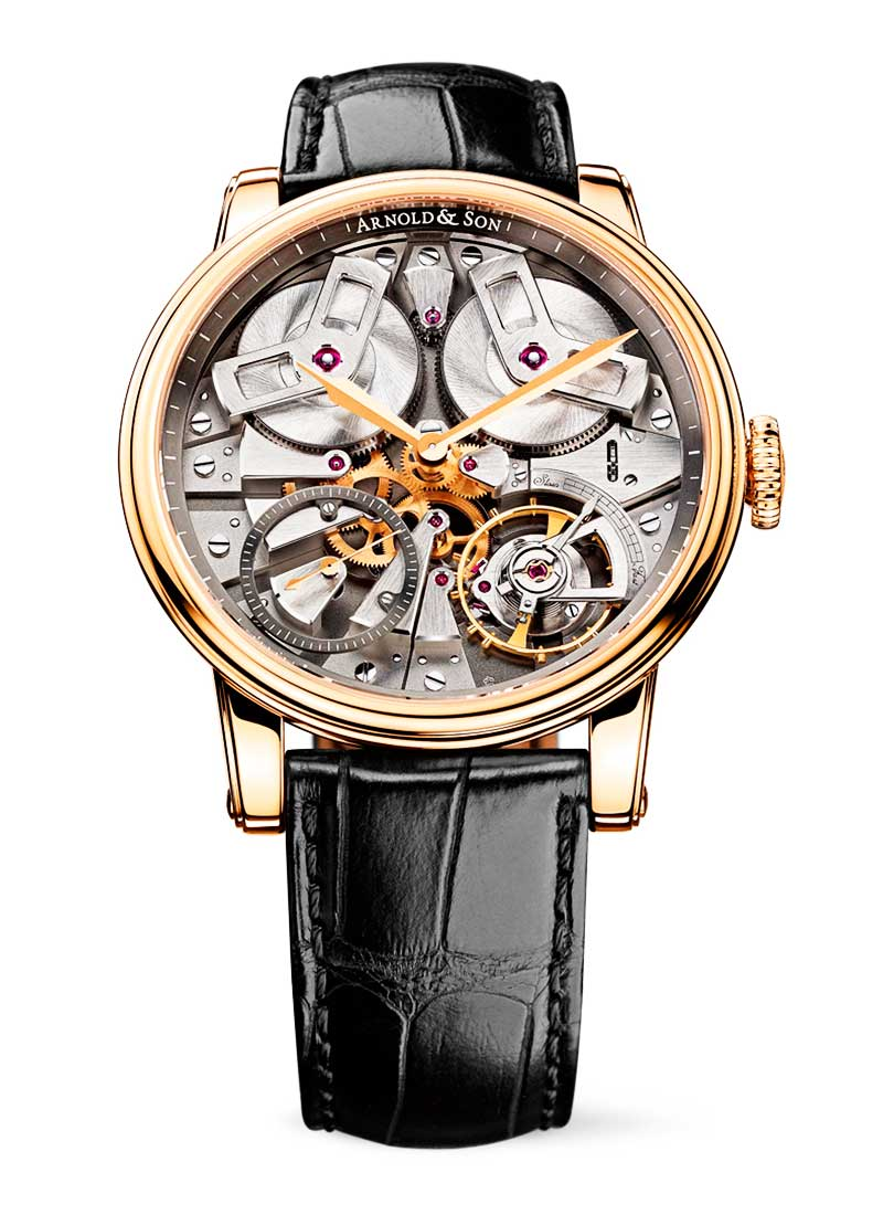 Arnold and Son TB88 Royal Collection 46mm in Rose Gold