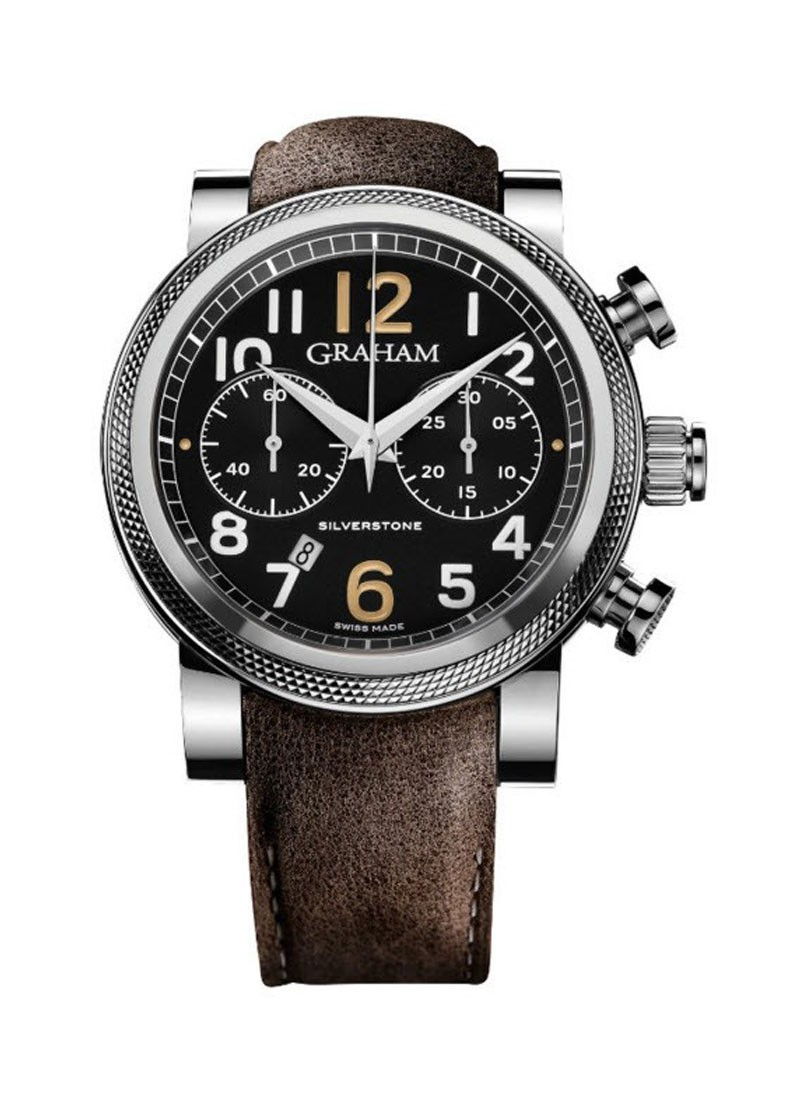 Graham Silverstone Chronograph Men's Automatic in Steel