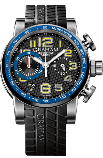 Graham Silverstone Stowe Racing Automatic in Steel