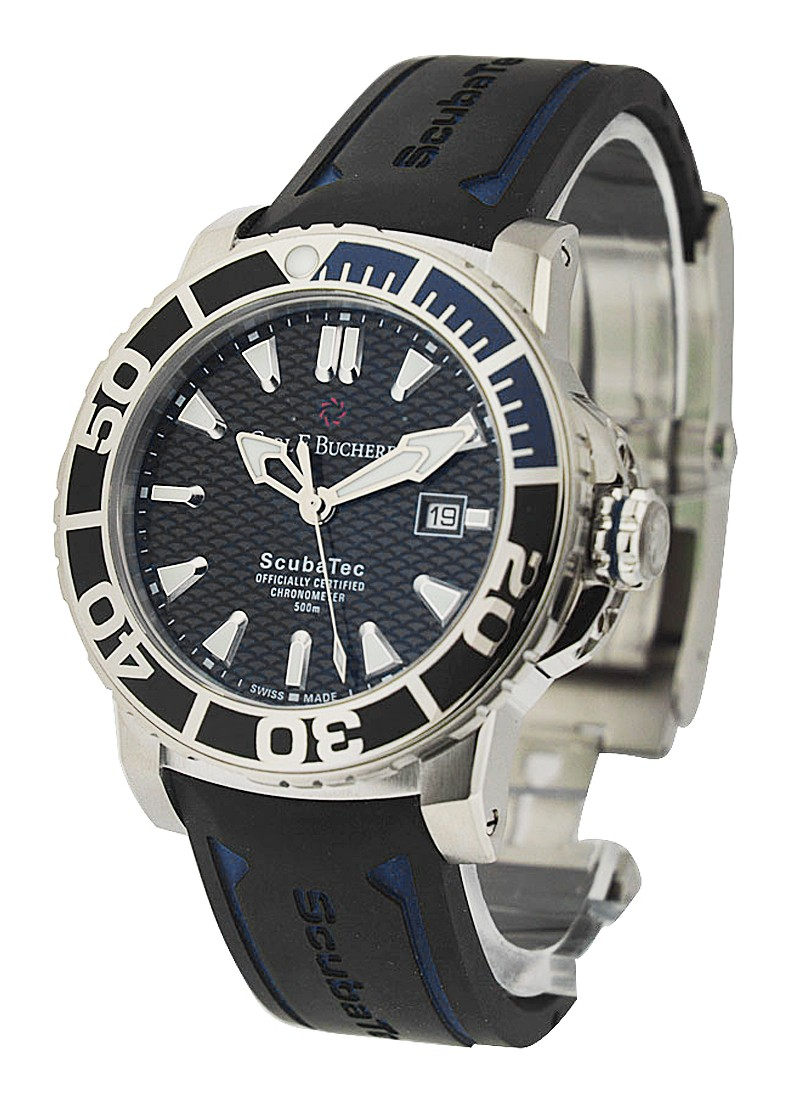 Carl F. Bucherer  ScubaTech Mens Automatic in Steel