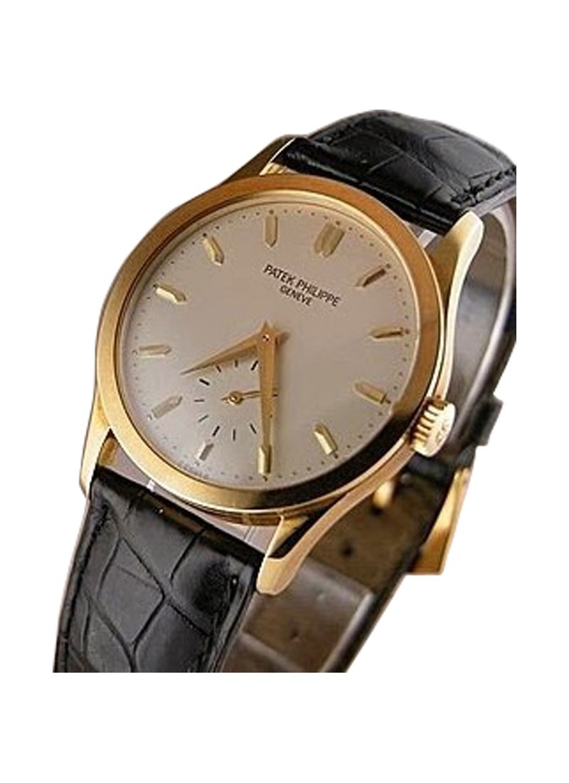 Patek Philippe Vintage Calatrava 5096  in Yellow Gold