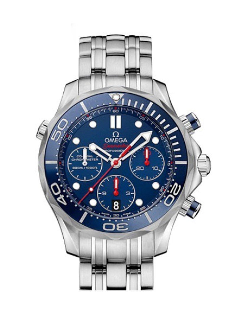 Omega Seamaster Chronograph 41mm in Steel