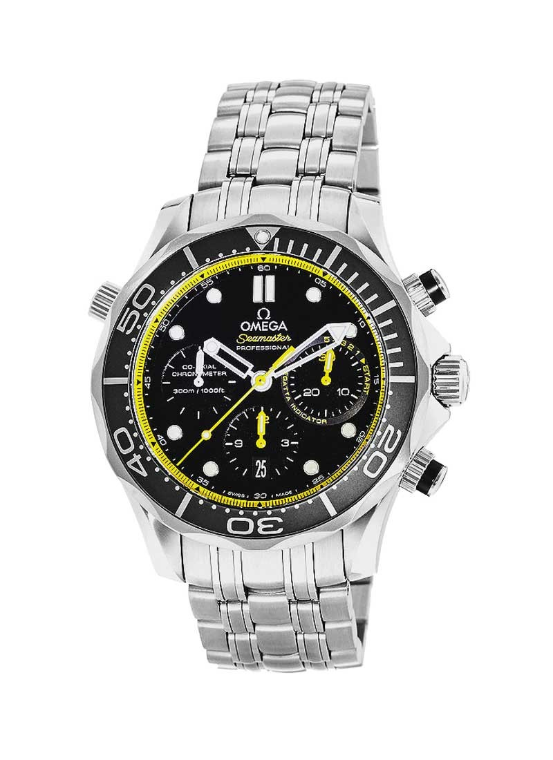 Omega Seamaster Chronograph Automatic Mens in Steel