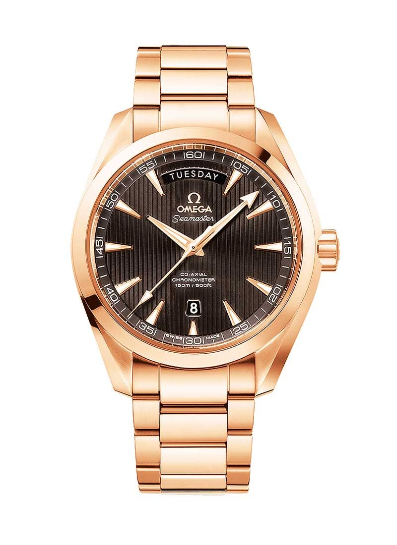 231 50 42 22 06 001 Omega Aqua Terra 42mm Rose Gold Essential Watches