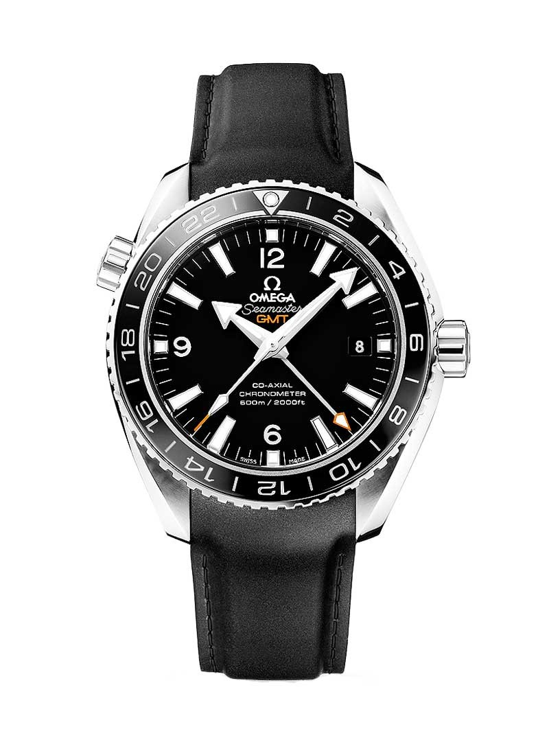 Omega Seamaster Co-Axial Planet Ocean GMT in Steel