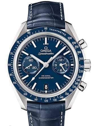 Omega Speedmaster Moonwatch Co Axial Chronograph in Titanium