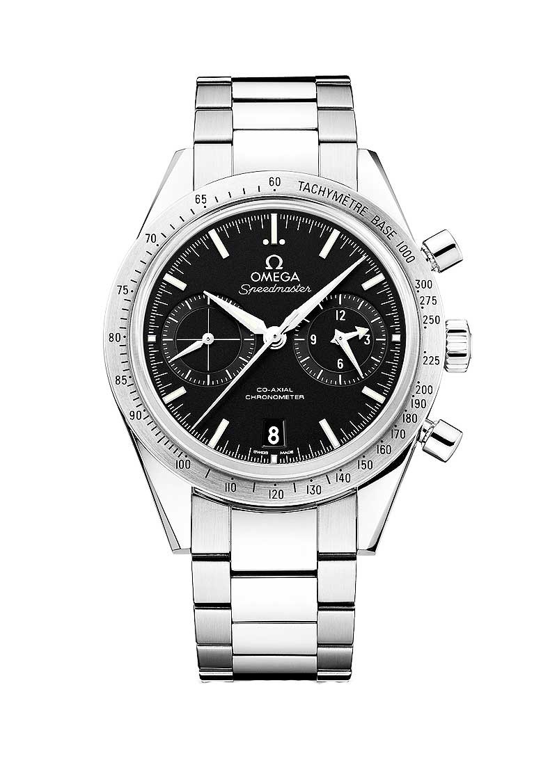 Omega Speedmaster 57 Co-Axial Chronograph Automatic in Steel