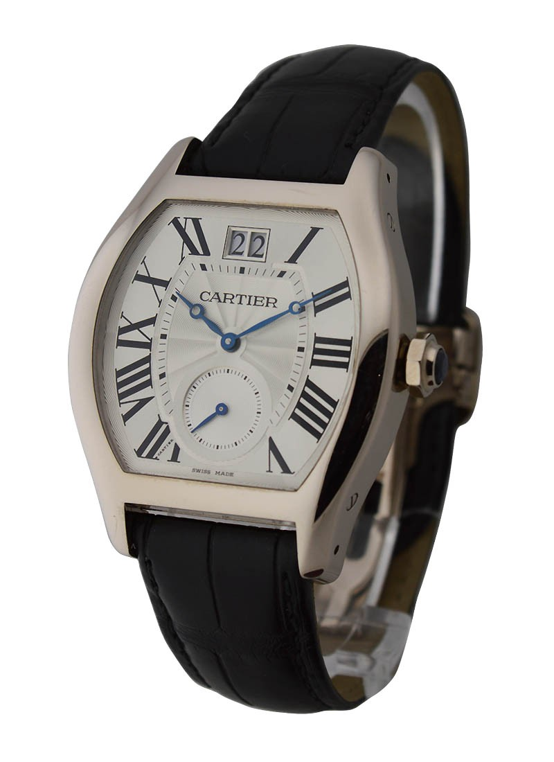 Cartier Tortue XL Limited Edition in White Gold