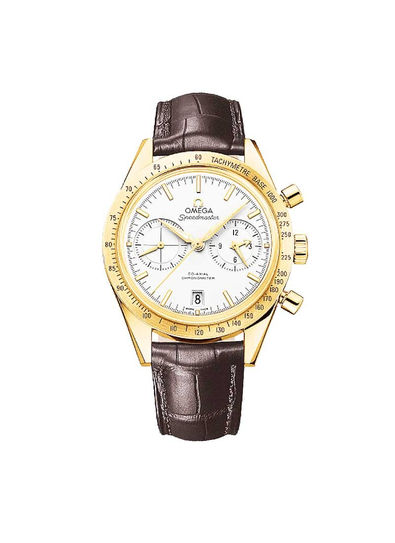 Omega Speedmaster Chrongraph in Yellow Gold