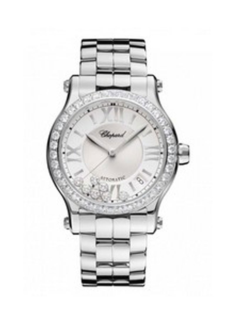 Chopard Happy Sport Mid Size with Diamond Bezel