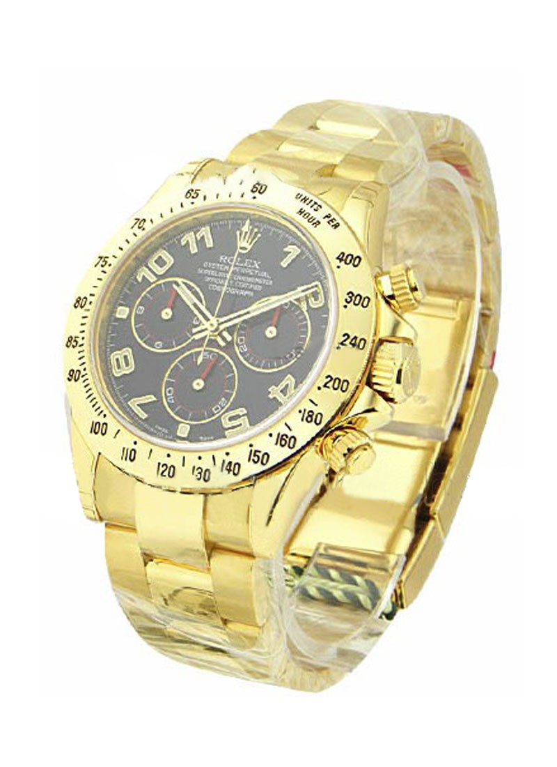 Rolex Used Yellow Gold DAYTONA on Bracelet 116528