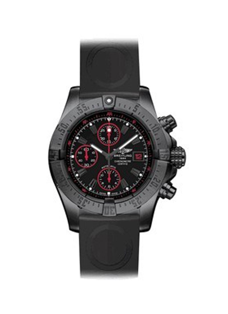 Breitling Avenger Chronograph mens Automatic in Black PVD Steel