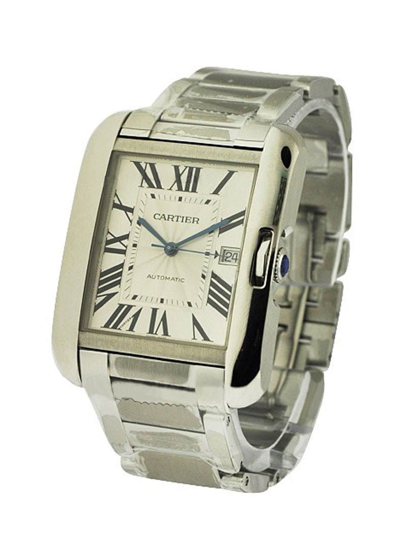 Cartier Tank Anglaise Large in Steel