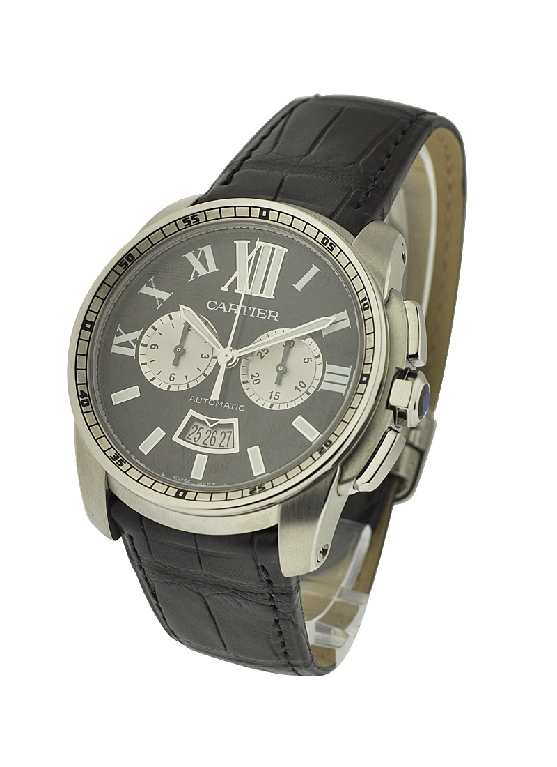 Cartier Calibre de Cartier Chronograph in Steel