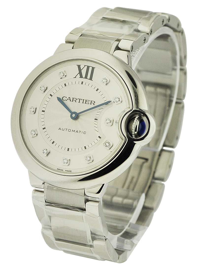Cartier Ballon Bleu de Cartier in Steel