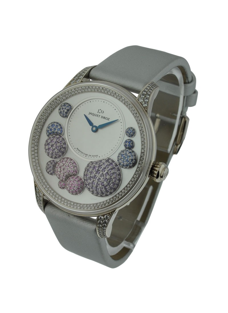 Jaquet Droz The Heure Celeste Automatic   White Gold  Diamond Bezel