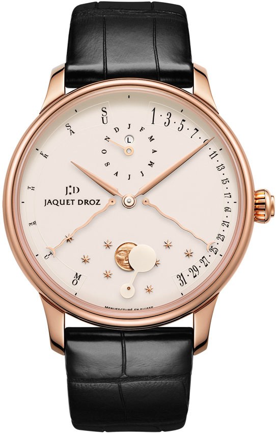 Jaquet Droz Quantieme Perpetual Eclipse Automatic in Rose Gold
