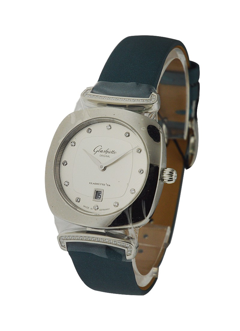 Glashutte Pavonina Ladies 31mm in Steel