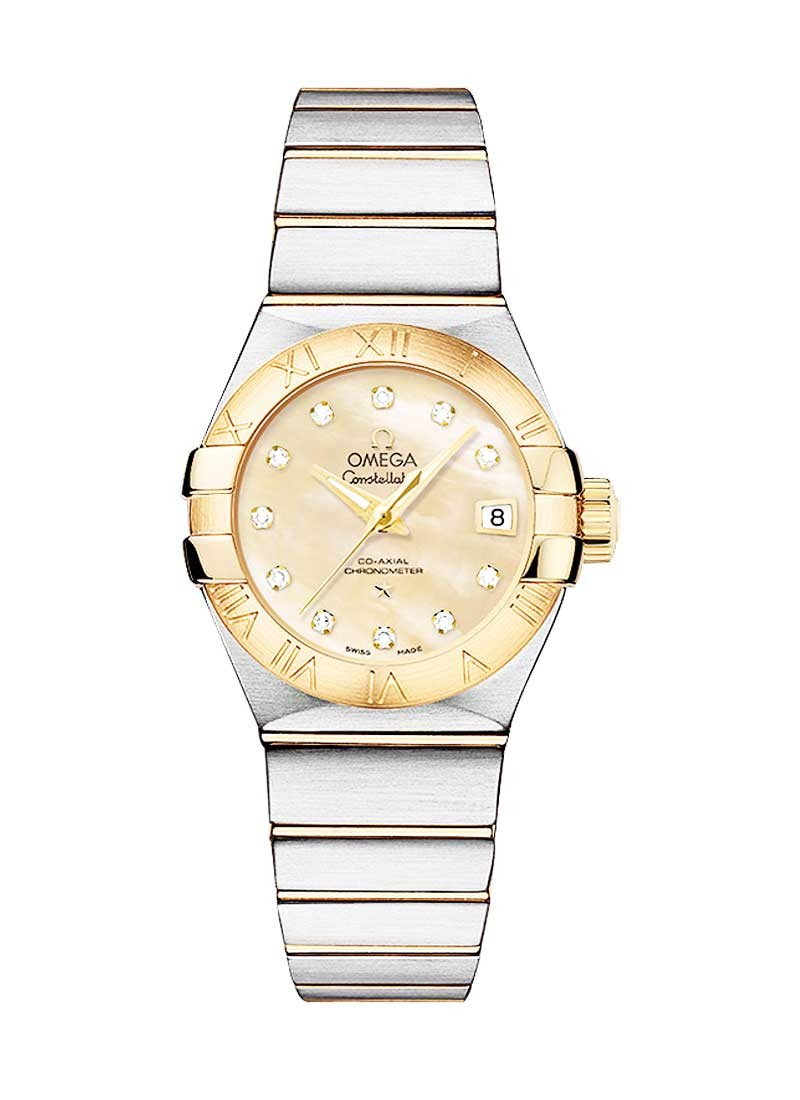 Omega Constellation Brushed Chronometer in 2-Tone