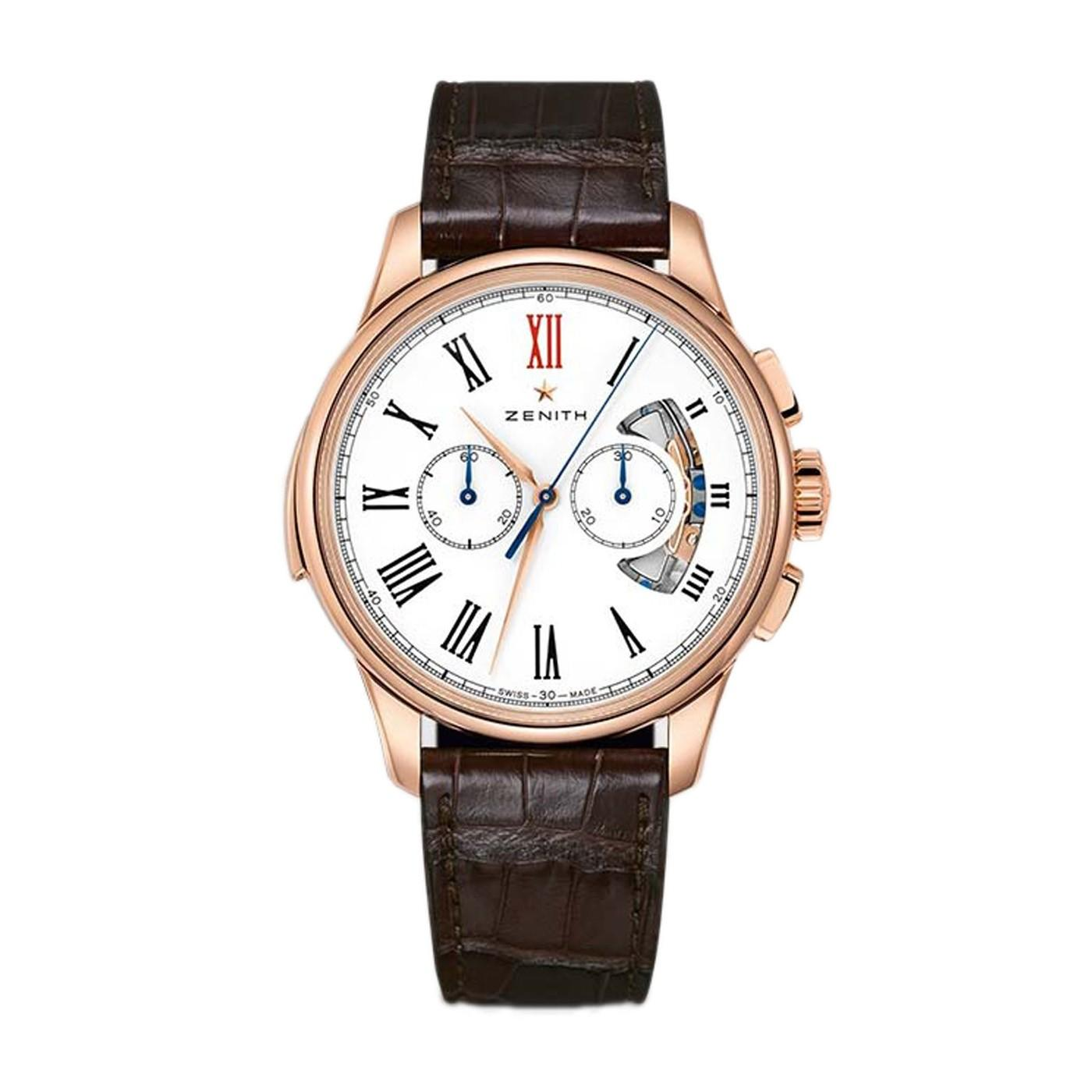 Zenith Academy Repetition Minutes Chronograph in Rose Gold