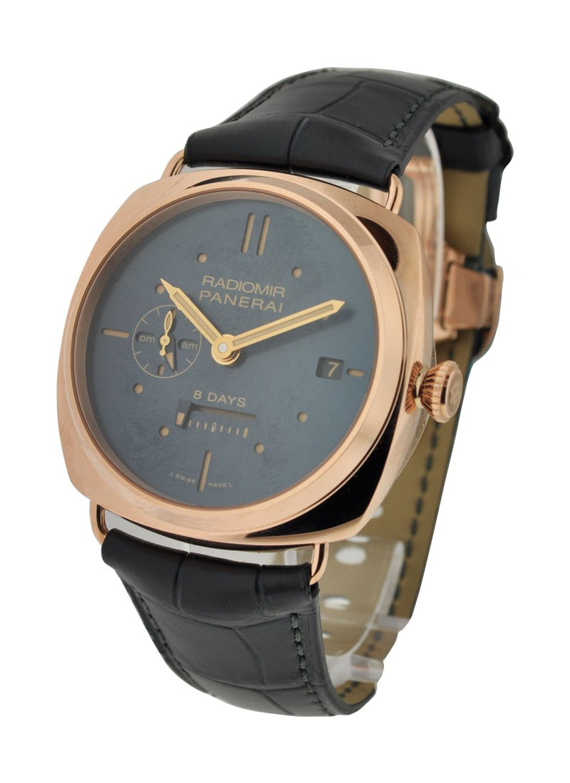 Panerai PAM 538   Radiomir 8 Day GMT Oro Rosso