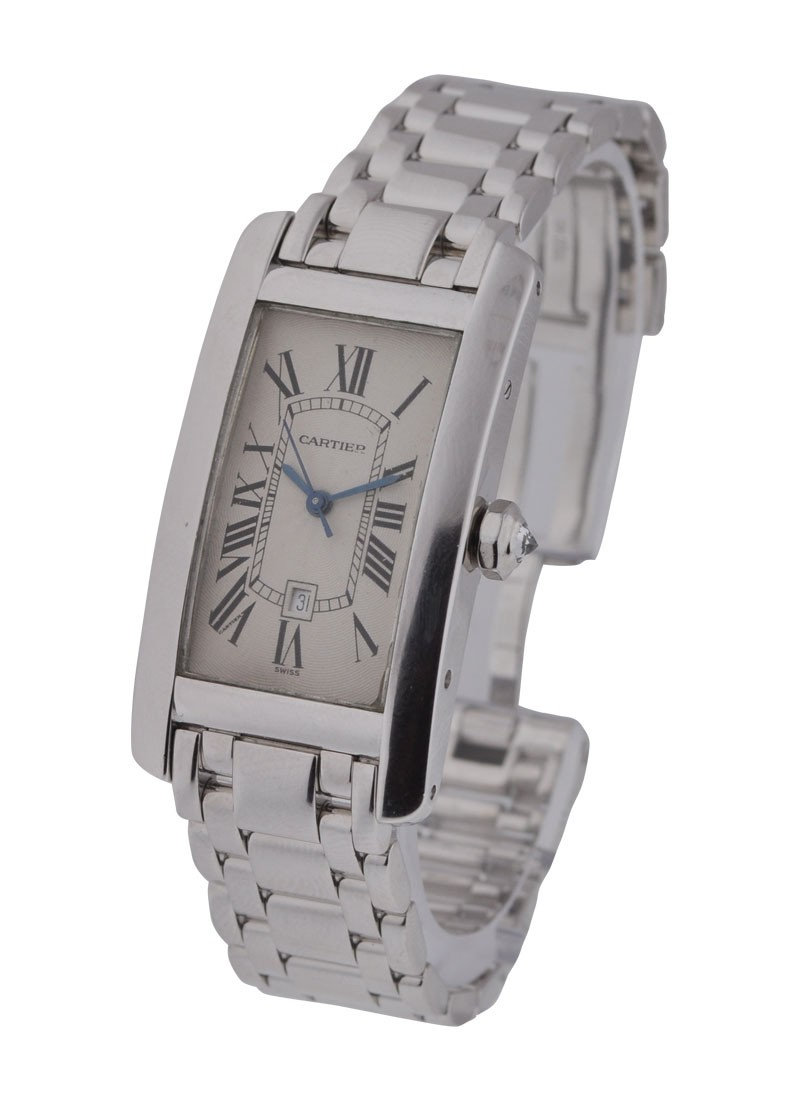 Cartier Tank Americaine Mid Size on Bracelet