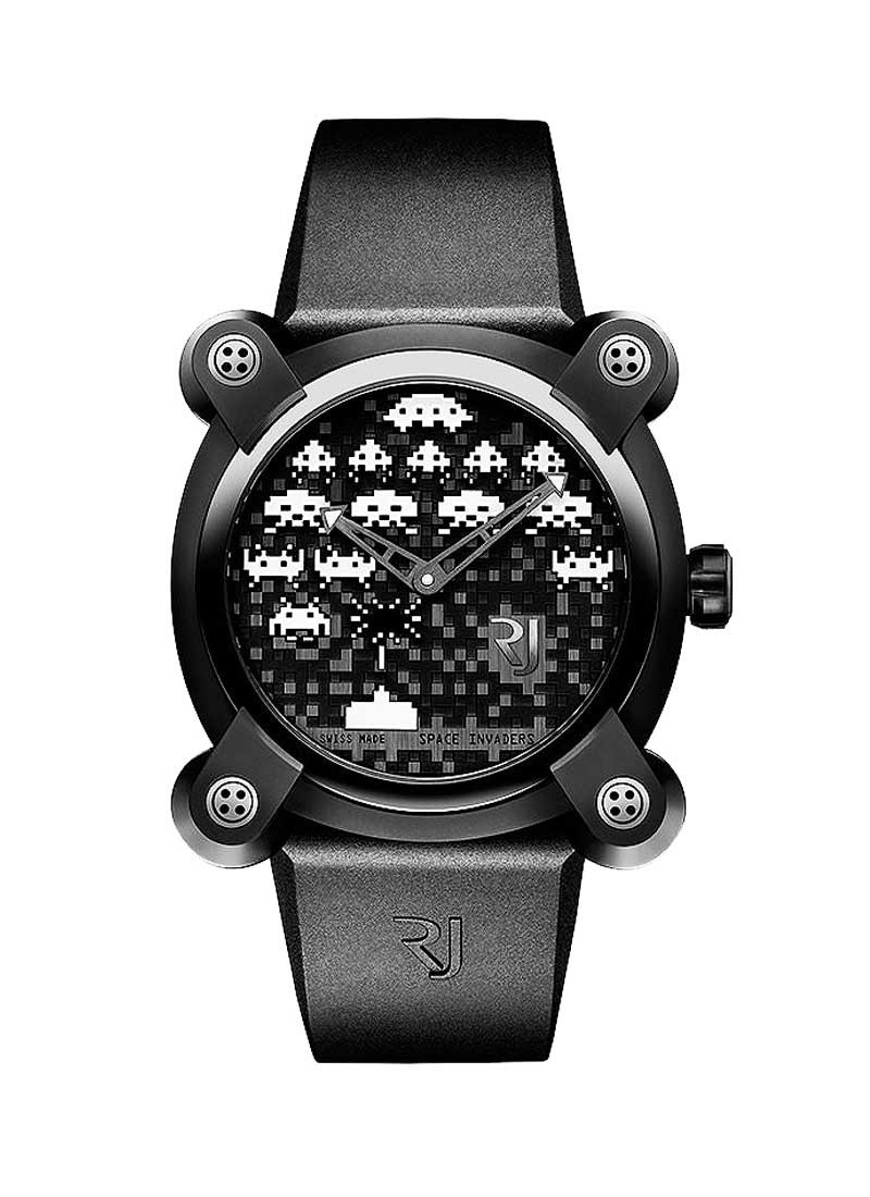 Romain Jerome Moon Invader Space Invaders Limited Edition - Black PVD