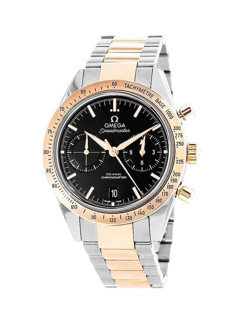 Omega Speedmaster 57 Co-Axial Chronograph Automatic in 2-Tone