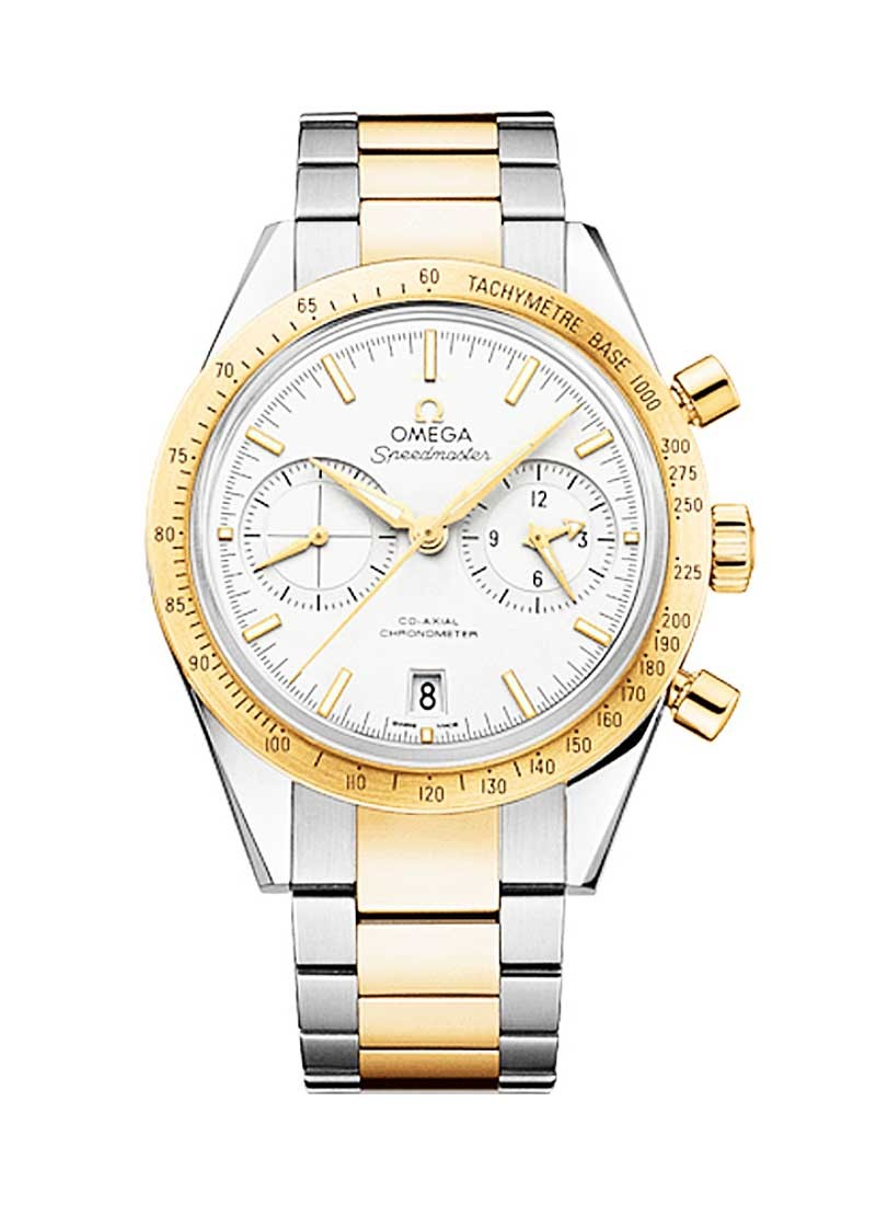 Omega Speedmaster 57 Co-Axial Chronograph in 2-Tone