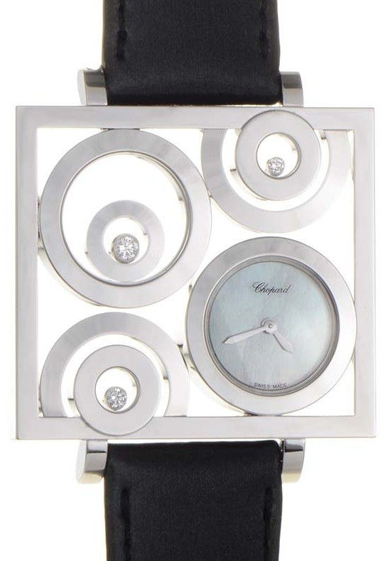 Chopard Happy Spirit Ladies Quartz in White Gold