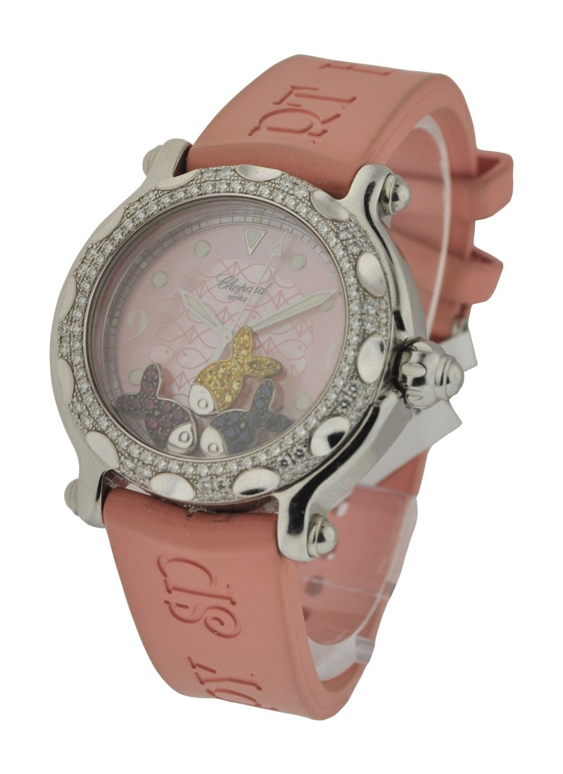 Chopard Happy Beach Happy Beach - Pink Dial and Strap