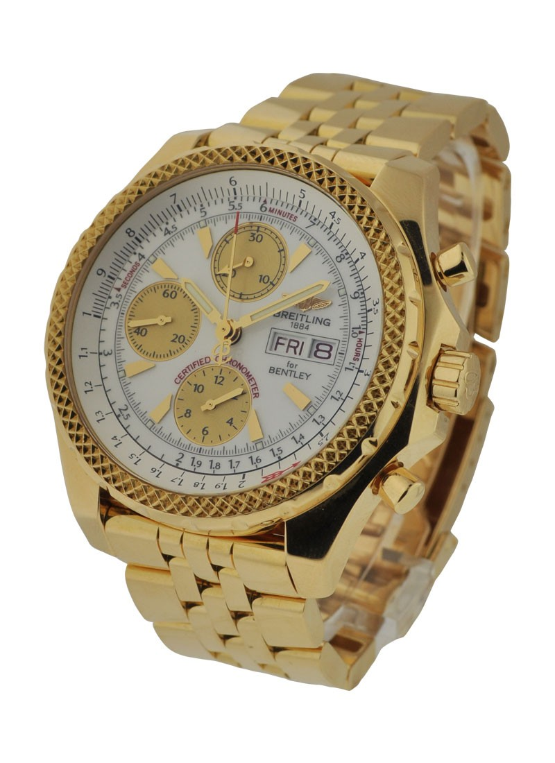 Breitling Bentley GT Chronograph in Yellow Gold