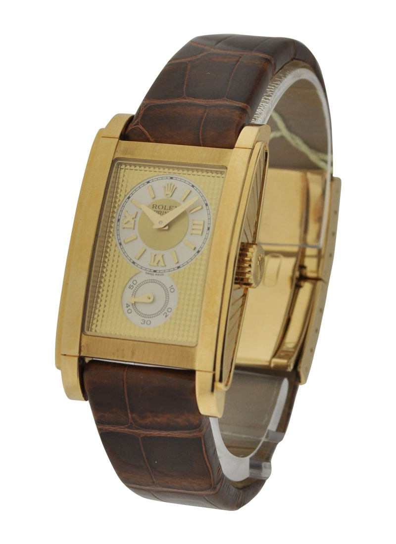 Rolex Used  Cellini Prince in Yellow Gold 5440/8