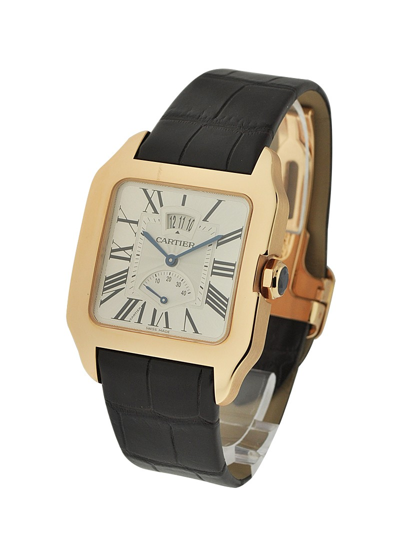 Cartier Santos Dumont Big Date Power Reserve in Rose Gold