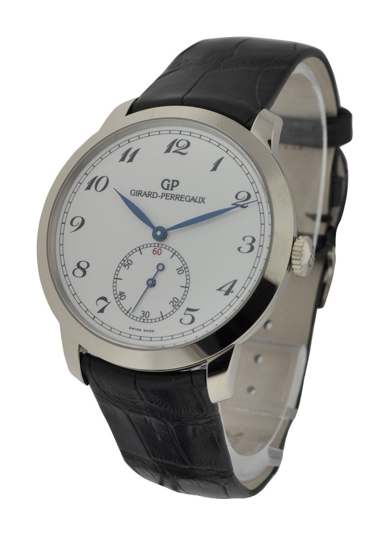 Girard Perregaux Classic 1966 Small Seconds in White Gold