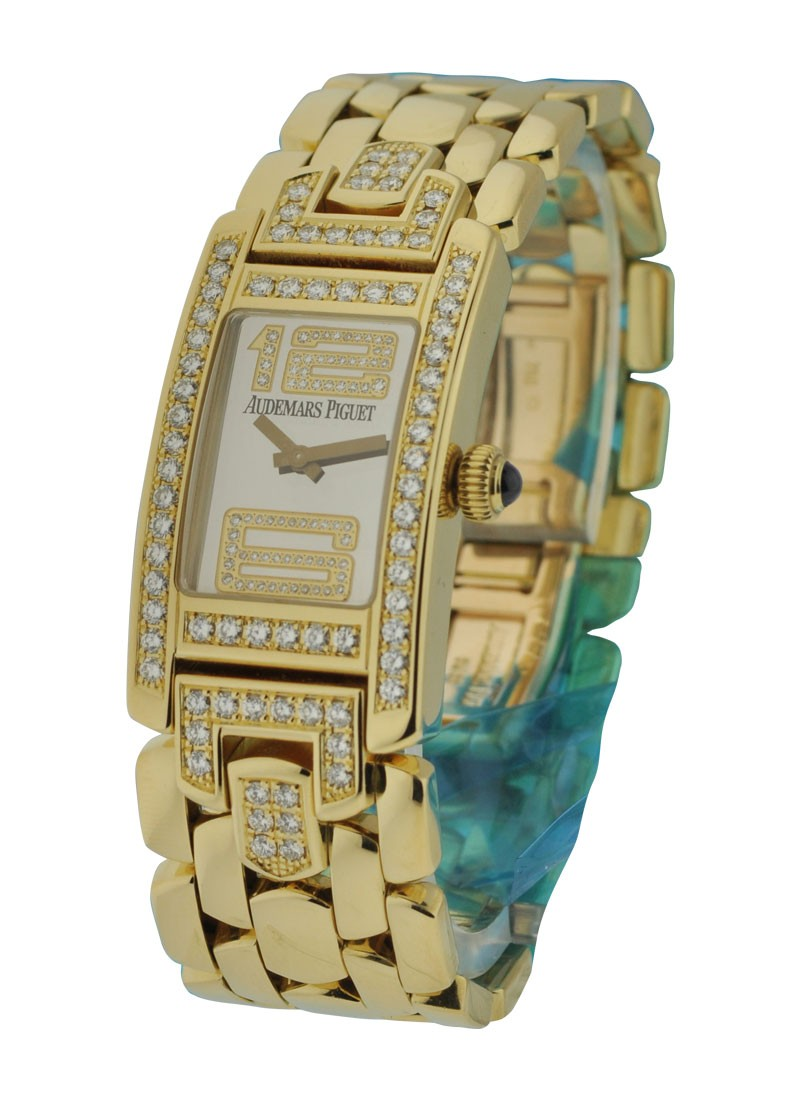 Audemars Piguet  Promesse Lady's in Yellow Gold with Diamond Case and Lugs